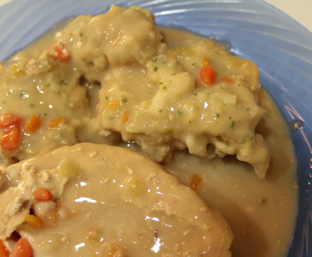 Chicken, Dumplings and Gravy Ready to Eat