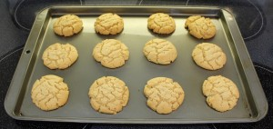 Peanut Butter Cookies Baked
